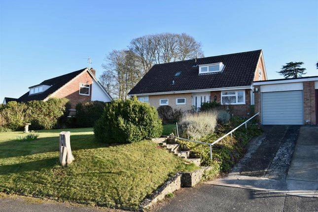 Thumbnail Detached bungalow for sale in Manor Close, Taunton