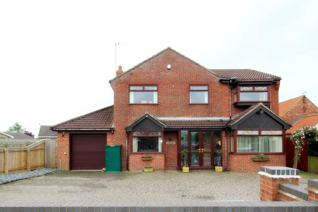 Thumbnail Detached house for sale in Beverley Road, Cranswick, Driffield