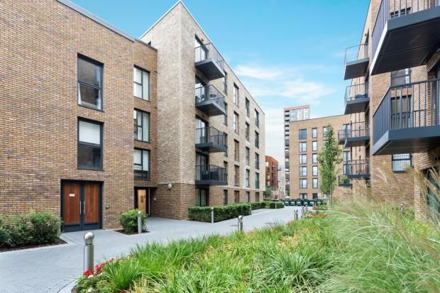 Thumbnail 2 bed flat for sale in Cleveley Court, Marine Wharf, Ashton Reach, London