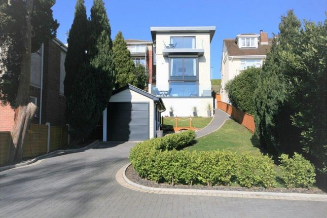 Thumbnail Detached house for sale in Churchfield Crescent, Poole