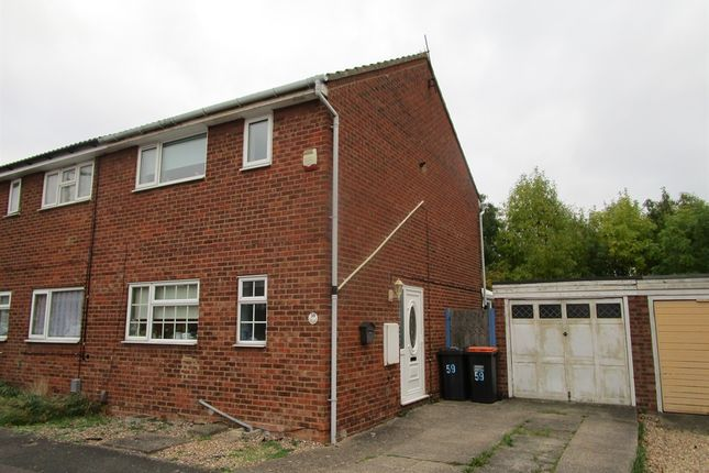 3 bed semi-detached house for sale in Whitebeam Close, Kempston, Bedford