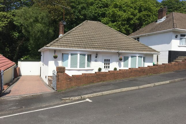 Thumbnail Detached bungalow for sale in Manor Way, Briton Ferry, Neath
