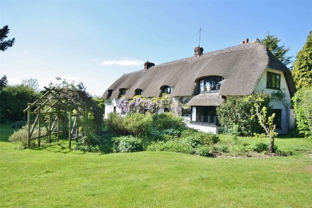 Thumbnail Detached house for sale in Rockford, Ringwood, Hampshire