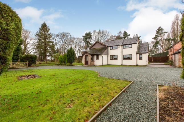Thumbnail Detached house for sale in Clay Lane, Moston, Sandbach, Cheshire