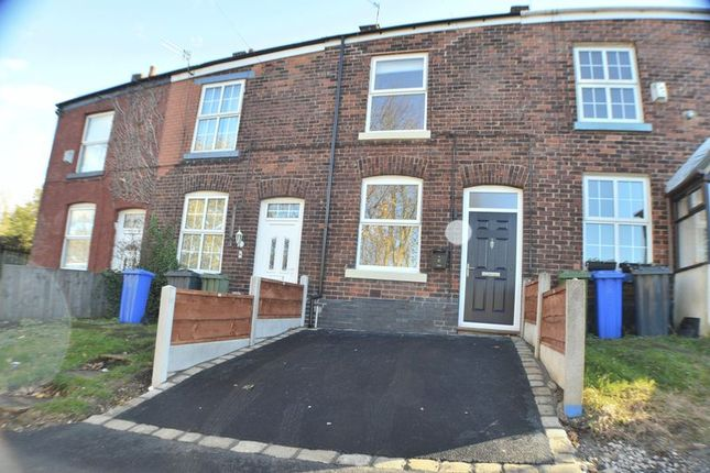 Thumbnail Terraced house to rent in Wellington Street, Hyde