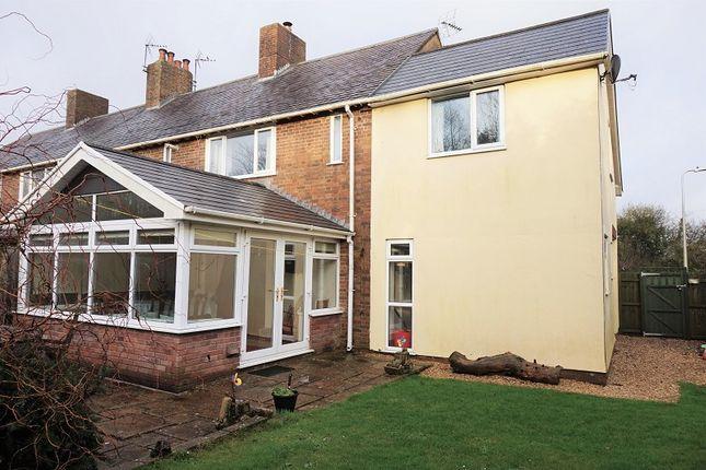 Thumbnail End terrace house for sale in Stormy Down, Bridgend, Bridgend County.