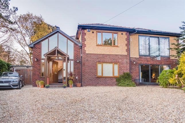 Thumbnail Detached house for sale in The Ridge, Heswall, Wirral