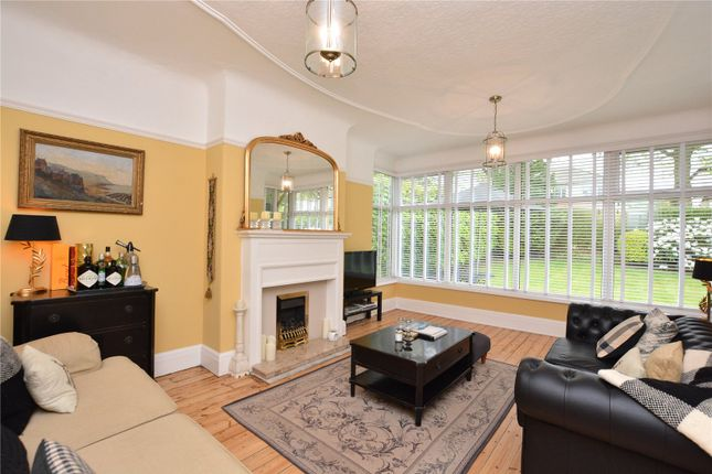 Thumbnail Detached bungalow for sale in West Park Drive East, Roundhay, Leeds