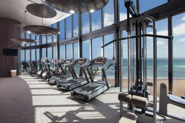 Porsche Design Tower In Miami - Gym With Sea View