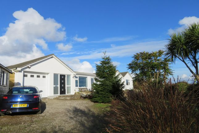 Thumbnail Detached bungalow for sale in Cockwells, Penzance