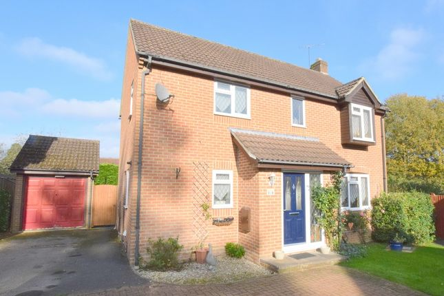 Thumbnail Detached house for sale in Monument Chase, Whitehill, Bordon, Hampshire
