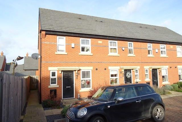 Thumbnail Town house for sale in Merttens Drive, Rothley, Leicester