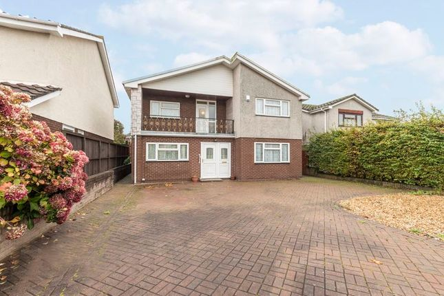 Thumbnail Detached house for sale in The Greenways, Magor, Caldicot