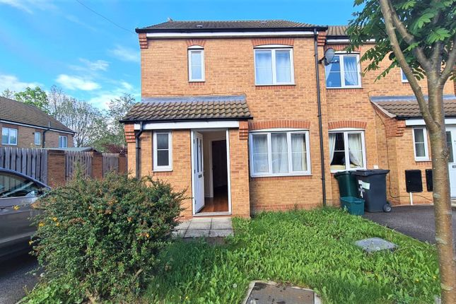 Thumbnail Semi-detached house to rent in Aidans Close, Doncaster