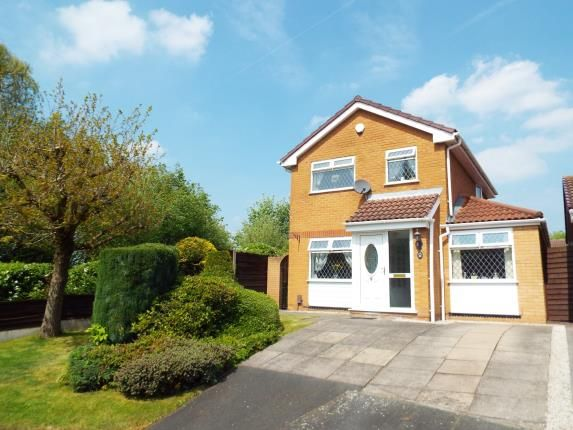 Thumbnail Detached house for sale in Lockerbie Close, Warrington, Cheshire