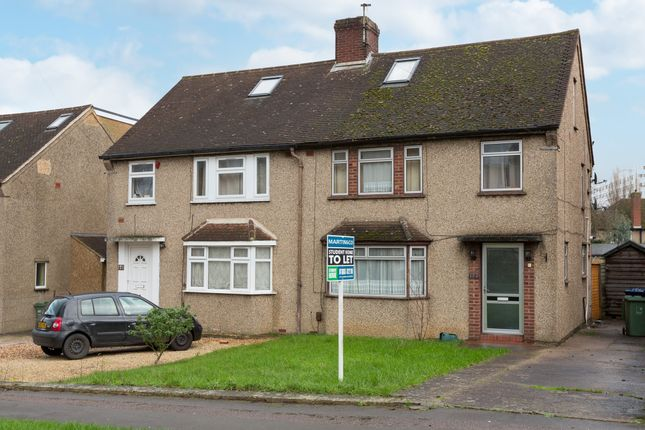 Thumbnail Semi-detached house to rent in Headley Way, Headington, Oxford
