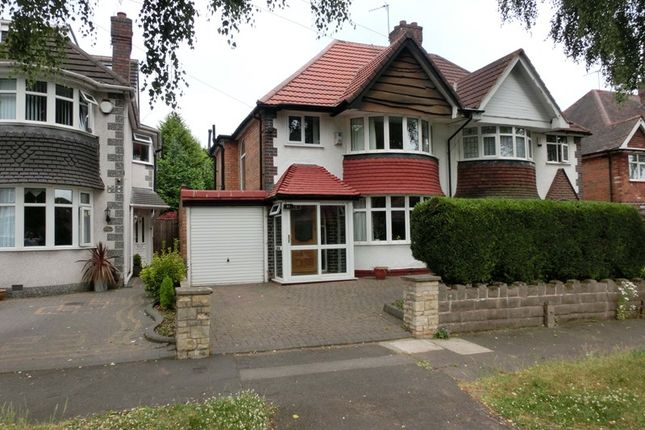 Thumbnail Semi-detached house for sale in Lulworth Road, Hall Green, Birmingham