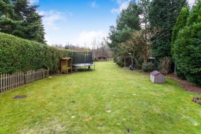 Garden of Somerford View, Somerford, Congleton, Cheshire CW12