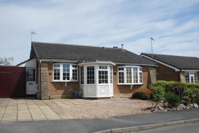 Thumbnail Detached bungalow for sale in Rectory Road, Markfield