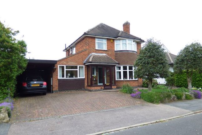 Thumbnail Detached house for sale in Spinney Hill Drive, Loughborough