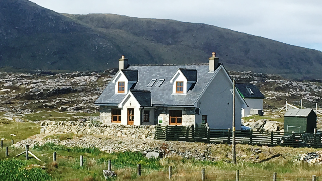 Thumbnail Detached house for sale in Quidinish, Isle Of Harris