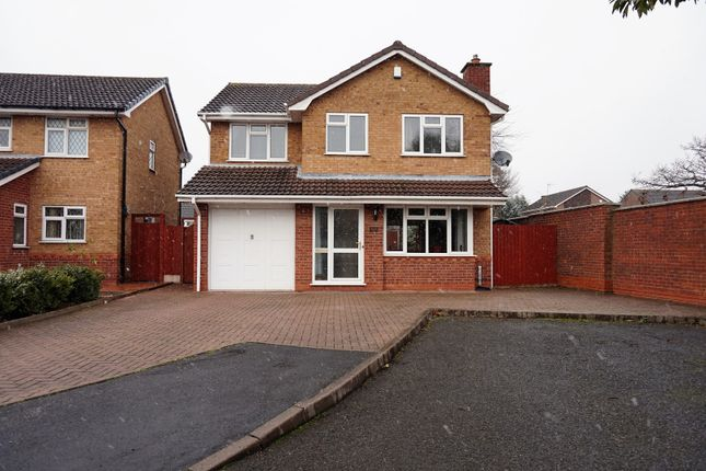 Thumbnail Detached house for sale in Snowdon Way, Willenhall