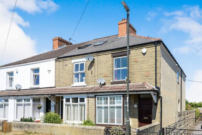 Thumbnail End terrace house for sale in Westfield Lane, Barlborough, Chesterfield