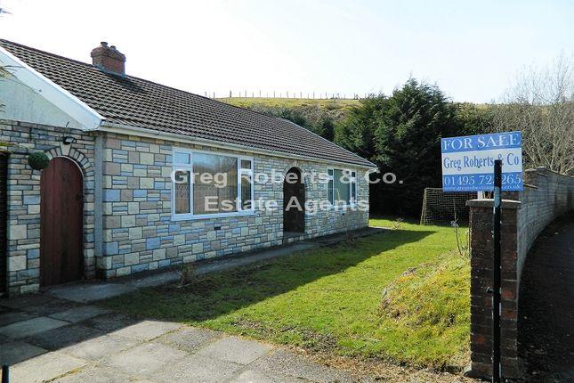 Thumbnail Detached bungalow for sale in Western Crescent, Tredegar, Blaenau Gwent