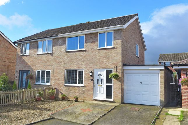 Thumbnail Semi-detached house for sale in Willow Walk, Ripon