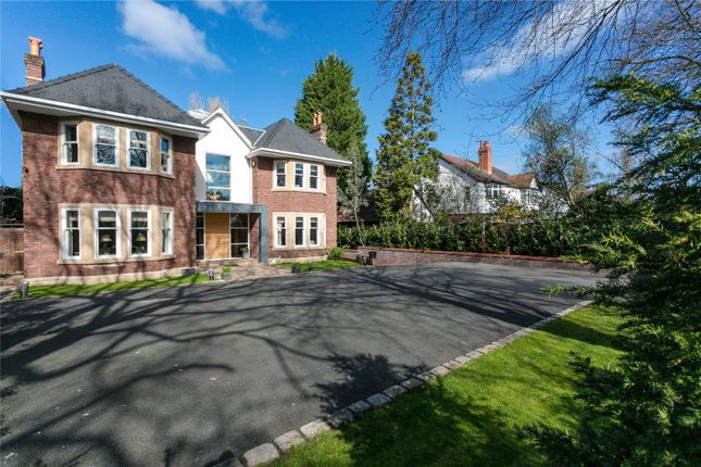 Thumbnail Detached house for sale in Manchester Road, Wilmslow, Cheshire