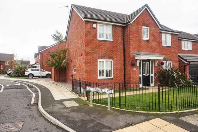 Thumbnail Detached house for sale in Calderdale Close, Liverpool