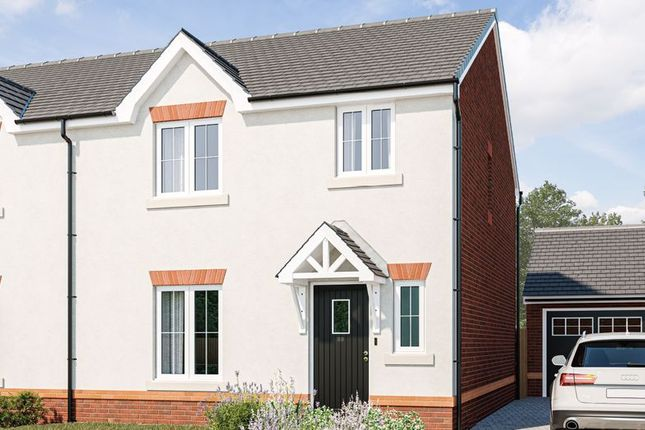 Thumbnail Semi-detached house for sale in Avalon, Old Wells Road, Glastonbury