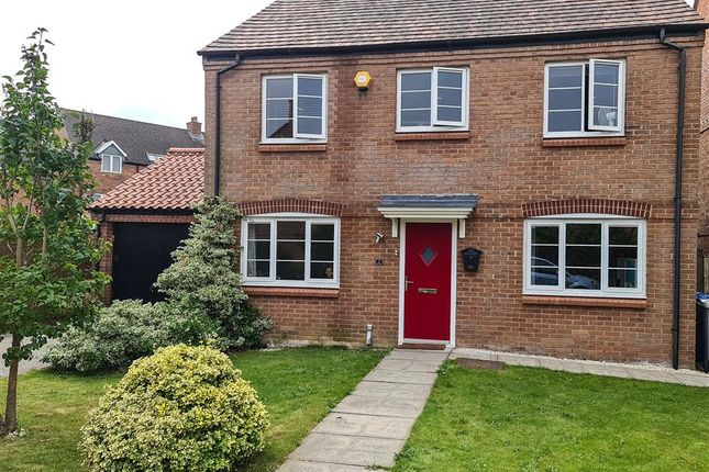 Thumbnail Detached house for sale in Mulberry Close, Desborough, Kettering