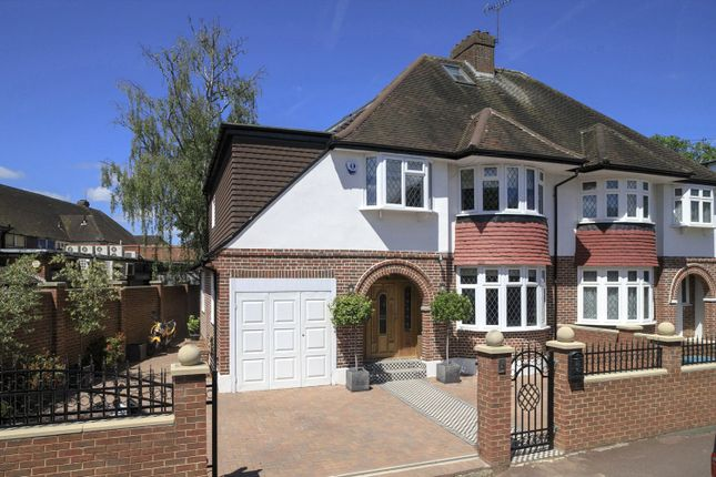 Thumbnail Semi-detached house for sale in Holland Avenue, London