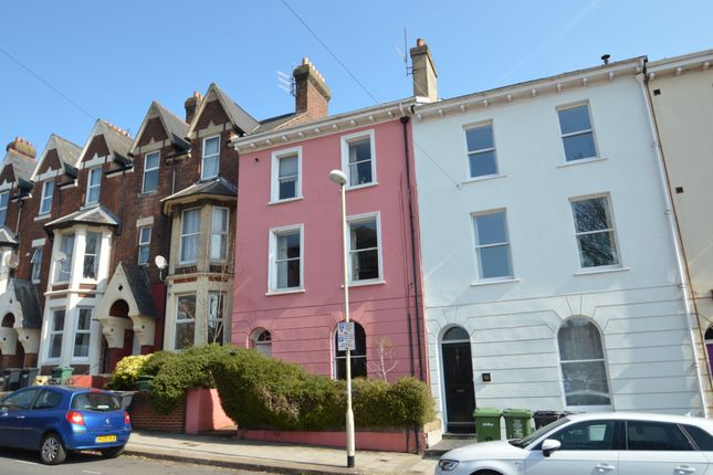 Thumbnail Town house for sale in St. Davids Hill, Exeter