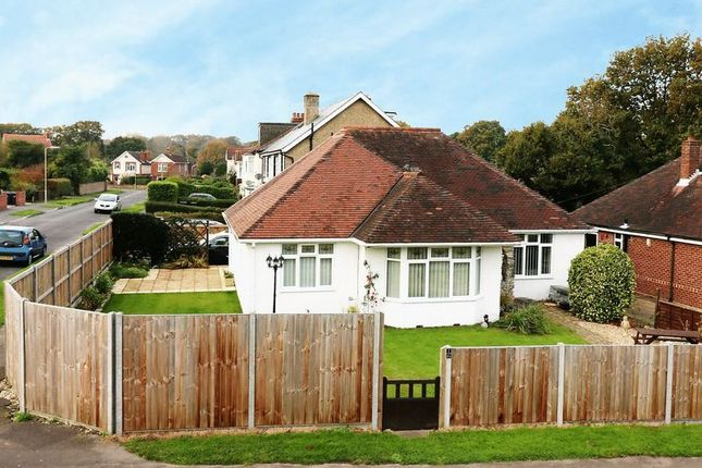 Thumbnail Detached bungalow for sale in Park Avenue, Widley, Waterlooville