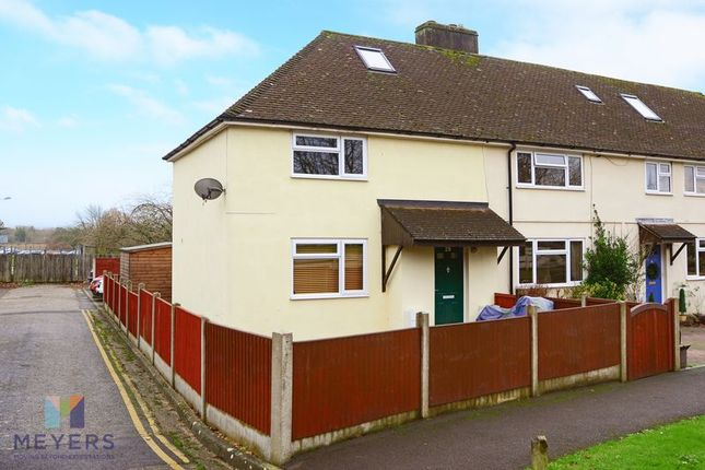 Thumbnail End terrace house for sale in Andover Green, Bovington BH20.