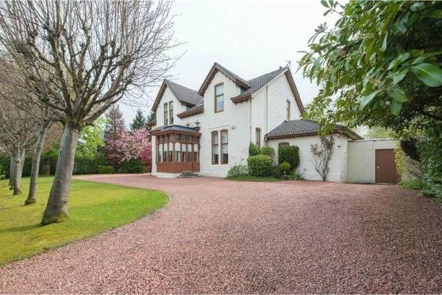 Thumbnail Detached house for sale in Corsebar Road, Paisley, Renfrewshire