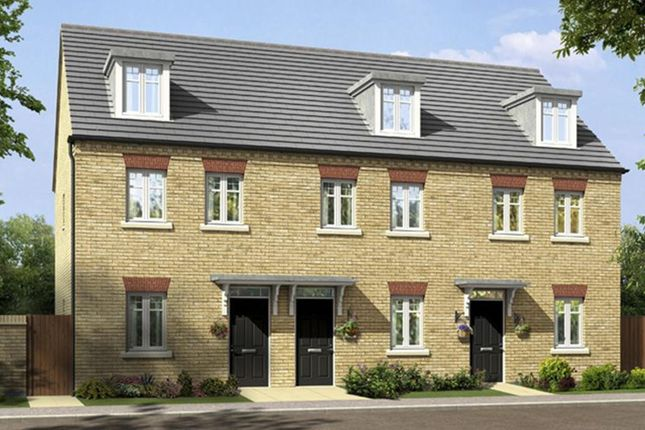 "Thumbnail Terraced house for sale in ""Kirkwood"" at Great Denham, Bedford"