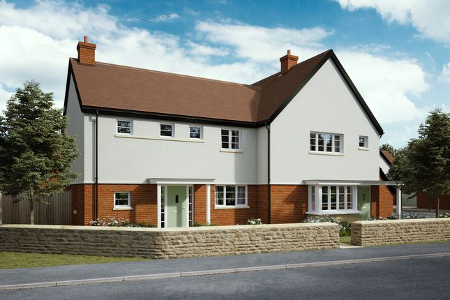 Thumbnail Semi-detached house for sale in Staddlecote Place, Wingfield Road, Trowbridge
