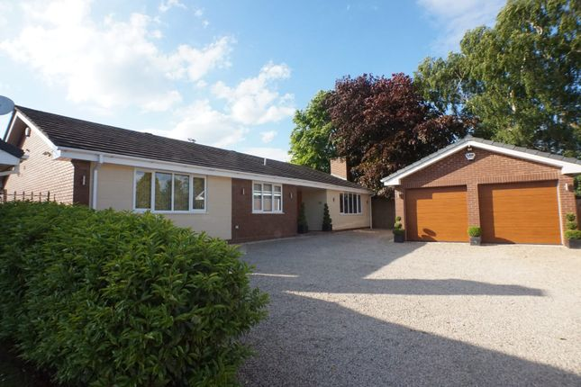 Thumbnail Detached bungalow for sale in Wentworth Drive, Lichfield