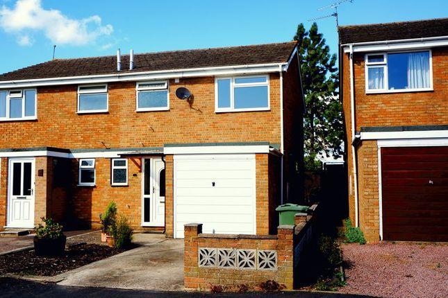 Thumbnail Semi-detached house to rent in Laburnum Road, Gloucester