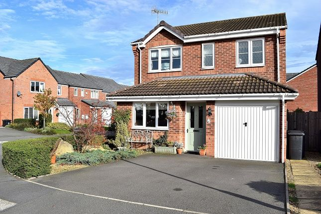 Thumbnail Detached house for sale in Gadwall Croft, Newcastle