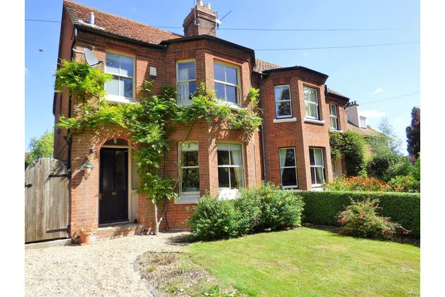 Thumbnail Semi-detached house for sale in Burgh Road, Norwich