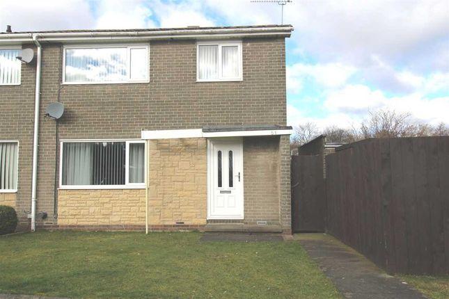 Thumbnail Semi-detached house for sale in Glenluce Drive, Southfield Green, Cramlington