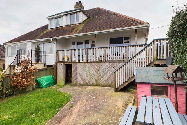 Thumbnail Semi-detached bungalow for sale in Marldon Road, Paignton