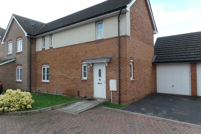 Thumbnail Semi-detached house to rent in Nine Acres Close, Hayes