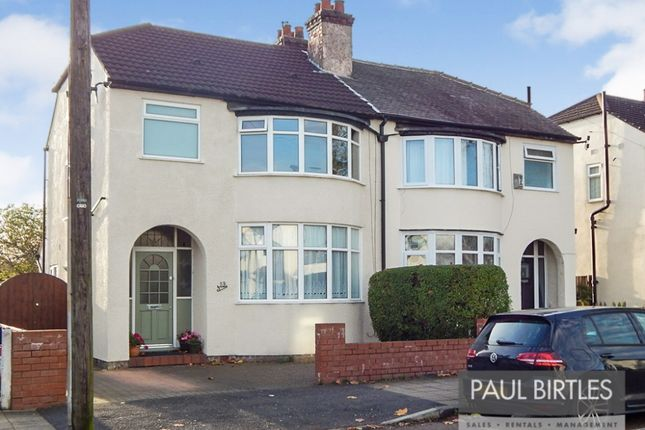 Thumbnail Semi-detached house for sale in Avondale Road, Stretford