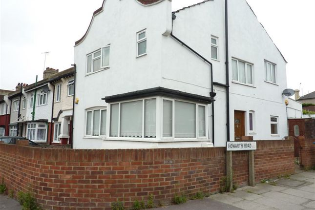 Thumbnail End terrace house to rent in Mcleod Road, Abbey Wood, London