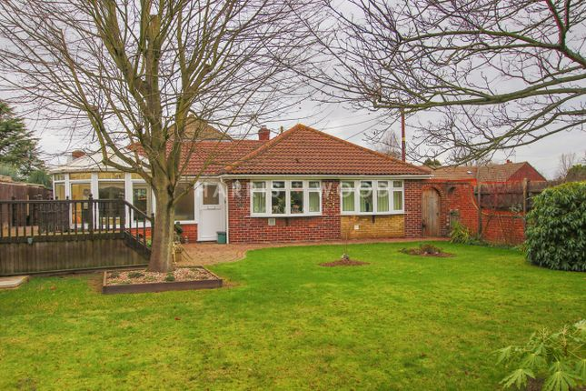 Thumbnail Detached bungalow for sale in Haggars Lane, Frating, Colchester